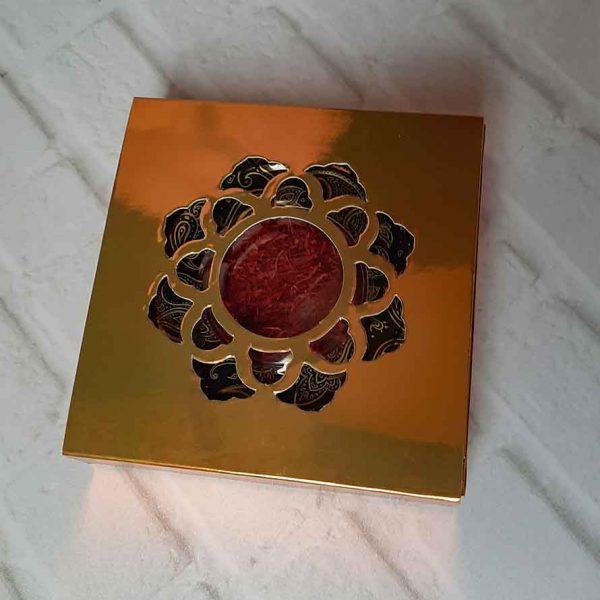 زعفران سرگل با بسته بندی جعبه ای