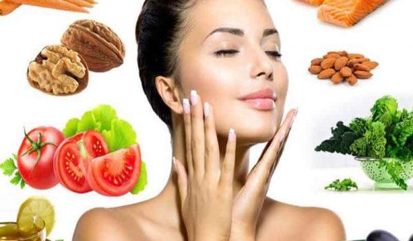 تاثیر تغذیه بر پوست